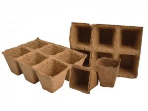 Square Fibre Pots