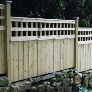 DENBIGH TIMBER - The Arden Fence Panel