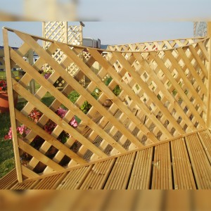 DENBIGH TIMBER - The Ash Fence Panel