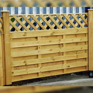DENBIGH TIMBER - The Ashdown Fence Panel