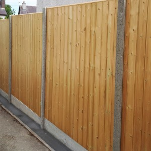 DENBIGH TIMBER - The Birch Fence Panel