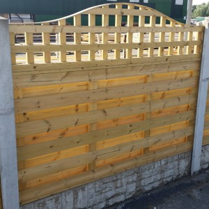 DENBIGH TIMBER - The Delamere Fence Panel