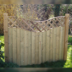 DENBIGH TIMBER - The Holly Fence Panel