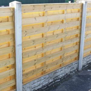 DENBIGH TIMBER - The Kinver Fence Panel
