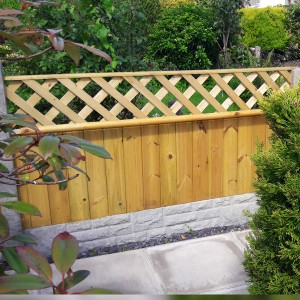DENBIGH TIMBER - The Oak Fence Panel