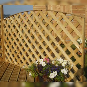 DENBIGH TIMBER - The Pine Fence Panel