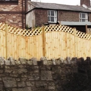 DENBIGH TIMBER - The Poplar Fence Panel