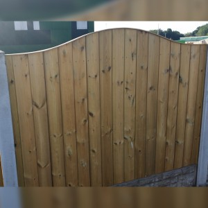 DENBIGH TIMBER - The Sapele Fence Panel