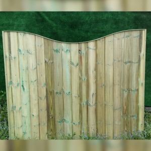 DENBIGH TIMBER - The Walnut Fence Panel