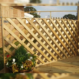 DENBIGH TIMBER - The Willow Fence Panel