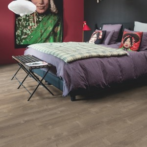 QUICK STEP VINYL FLOORING (LVT) Sand Storm Oak Brown  PUCL40086