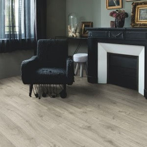 QUICK STEP VINYL FLOORING (LVT) Autumn Oak Warm Grey  PUCL40089