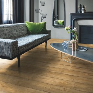QUICK STEP VINYL FLOORING (LVT) Picnic Oak Warm Natural  PUCL40094