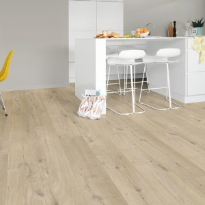 QUICK STEP VINYL FLOORING (LVT) Cotton Oak Beige  PUCL40103