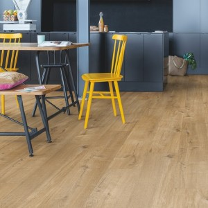 QUICK STEP VINYL FLOORING (LVT) Cotton Oak Natural  PUCP40104