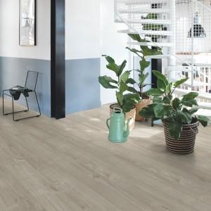 QUICK STEP VINYL FLOORING (LVT) Cotton Oak Warm Grey  PUGP40105