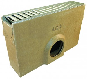 ACO DRAIN - ACO38703 Raindrain + Sump Unit & Grating