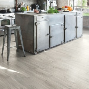 QUICK STEP VINYL FLOORING (LVT) Canyon Oak Grey Saw Cuts  RBACP40030