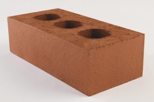 Red 65mm Class B Engineered - Perforated Brick [HBKBE65]