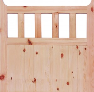 "LPD - External Door - Redwood 600 Gate (42mm) 1067 x 1067 (42"")  RGATE4242"