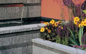 STONEMARKET PAVING SLABS -  Rio Granite Effect Textured Garden Wall Copings