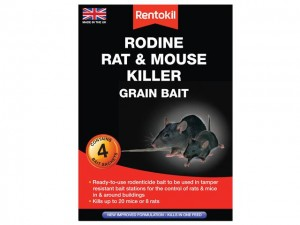 Rodine Rat & Mouse Killer Grain Bait  RKLPSMR12