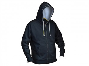 Black & Grey Zipped Sweatshirt  RNKZIPHODM