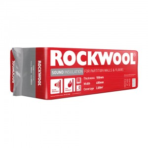ROCKWOOL 100x600x1200mm Sound Insulation -4.32M2  ROCK180889