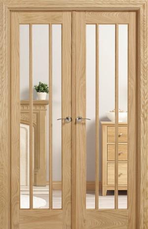 LPD - Internal Door - Room Dividers Lincoln W4 2031 x 1246 mm  W4OLIN