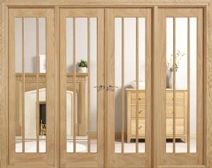LPD - Internal Door - Room Dividers Lincoln W8 2031 x 2478 mm  W8OLIN
