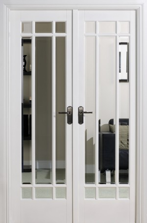 LPD - Internal Door - Room Dividers Manhattan W4 2031 x 1246 mm  W4WHI