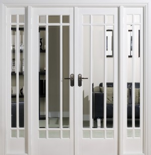LPD - Internal Door - Room Dividers Manhattan W6 2031 x 1904 mm  W6WHI