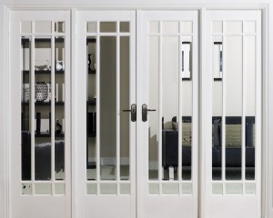 LPD - Internal Door - Room Dividers Manhattan W8 2031 x 2478 mm  W8WHI