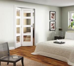JELDWEN White Room Fold Internal Folding Doors