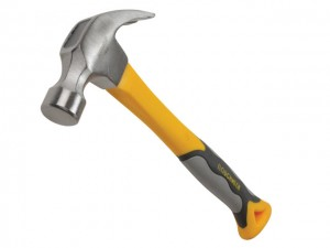 Curved Claw Hammers, Fibreglass Shaft  ROU60416