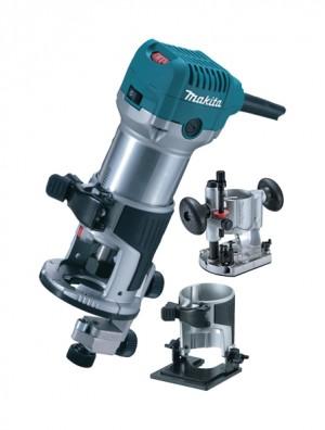 Makita 240V RT0700CX2 Combi Plunge & Fix Base Rout Power Tool  MAKRT0700CX2