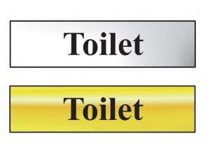 Bathroom Sign 200 x 50mm  SCA6051C_GROUP