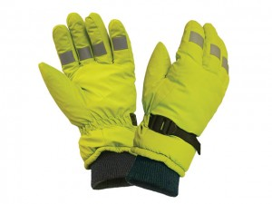 Hi-Visibility Gloves Yellow  SCAGLOHVISL