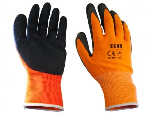 Foam Latex Coated Gloves  SCAGLOLATOL