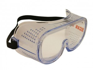 Direct Vent Safety Goggles  SCAPPEGDV