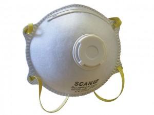 Moulded Disposable Valved Mask  SCAPPEP1MV