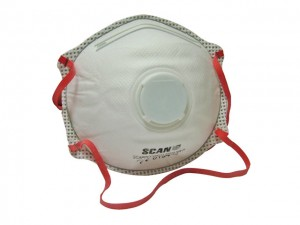 Moulded Disposable Valved Mask