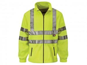 Hi-Visibility Yellow Full Zip Fleece  SCAWWHVFL