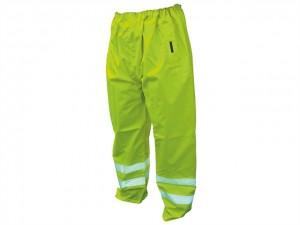 Hi-Vis Motorway Trousers Yellow  SCAWWHVMTM
