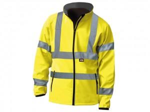Hi-Vis Yellow Soft Shell Jacket  SCAWWHVSJM