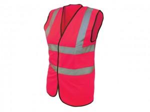 Hi-Vis Waistcoat Pink  SCAWWHVWLP