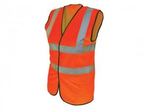 Hi-Vis Waistcoat Orange  SCAWWHVWMO