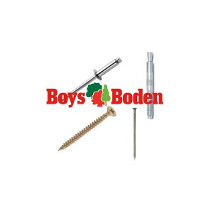 BZinc Plated RND HD SCREW 8 x1 inch [25]  OAK5109