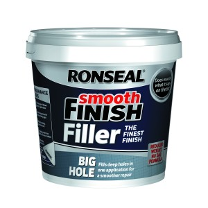 Ronseal Smooth Finish Big Hole Wall Filler 1.2L