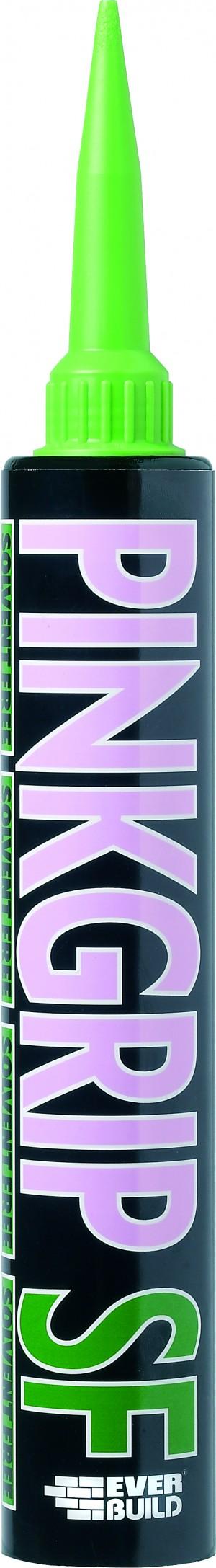 SikaEverbuild Pinkgrip Solvent Free 380ml [EVPINKSF]